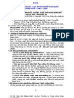 lịch sử lớp 12 -  Bài 18 - NHỮNG NĂM ĐẦU CỦA CUỘC KHÁNG CHIẾN TOÀN QUỐC