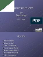 Intro Dot Net