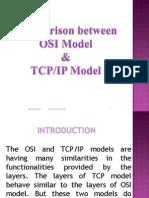 Comparison Between Osi Tcpip Model
