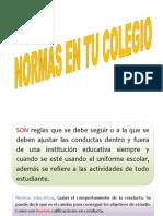 NORMAS SOCIALES