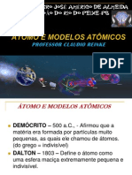 Apresentação Historico e Estrutura do átomo 9º ano A