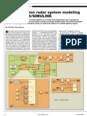 simulink   Ultra Wideband   Signal (Electrical Engineering)