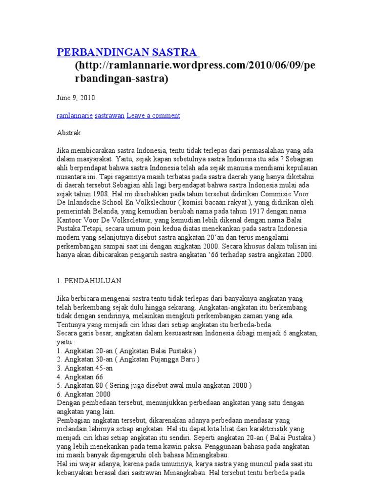 Perbandingan Sastra Gerr Karya Putu Wijaya Balai Pustaka 1532150160v1