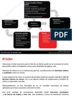 Uso Del Color en Disenio Web