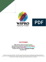 Wipro Company Application Form
