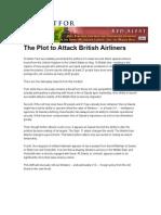 Atac Esuat Asupra Liniilor Aeriene Britanice