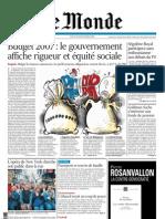 Le Monde 2006.09