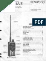 Kenwood TH-G71A-E Service Manual