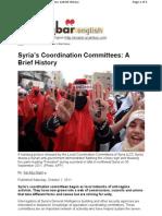 Syria's Coordination Akhbar Oct 2011