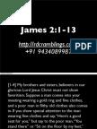 Sermon Notes - James 2:1-13