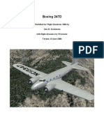 Boeing 247 Notes