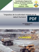 Impactos de la actividad minera en la salud Humana