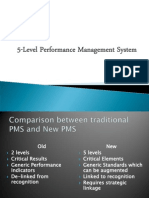 5-Level Performance Mgmt System b