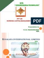 Kusalava International Limited SRI