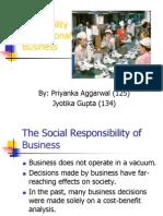 Social Responsibility..