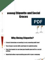 Dining Etiquette and Social Graces-Final