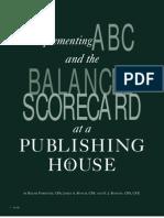 ABC & Balance Scorecard