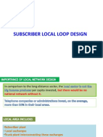 3 Subscriber Local Loop Designss