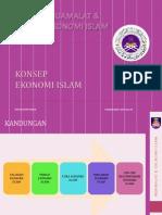 Mei - Konsep Ekonomi Islam