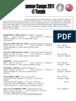 Website Camp Flyer