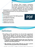 Hire Purchase Ppt 1