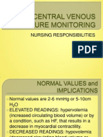 Central Venous Pressure Monitoring