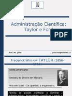 03 - Administra--o Cient-Fica - Taylor e Ford