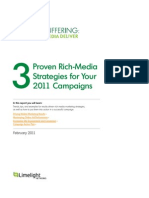 3 Proven Rich-Media Strategies for Your 2011 Campaigns