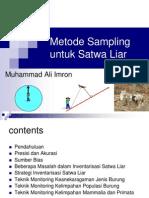 Teknik Inventarisasi Satwa Liar-Training02