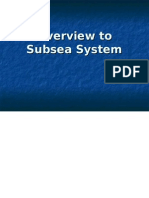 Overview to Subsea System