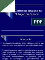 Conceitos Básicos de Nutrição de Suínos