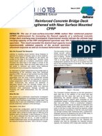 Response of Reinforced Concrete Bridge Deck Overhang Strengthened With ...