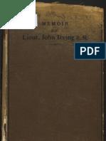 Memoir of Lieut John Irving