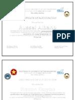 Pup Certificate