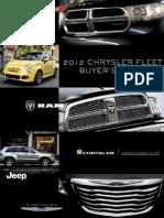 2012 MY Chrysler Fleet Buyer's Guide