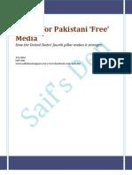 Lesson for Pakistani 'Free' Media