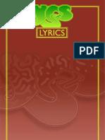 YES Songs - Lyrics