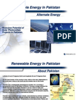 Solar Energy in Pakistan
