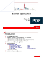Ball Mill Optimization