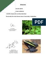 CM3101 Alkaloids I