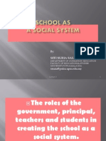 Lecture 2 - School as a Social System