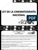Ley de La Cinematografia Nacional