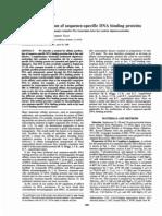 Purificacion Por Afinidad de Proteinas de Union a Secuencias Especificas Del Adn