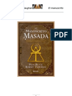 El Manuscrito Masada - Paul Block y Robert Vaughan