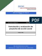 Floreal Forni - Formulacion y evaluacion de proyectos de acción social
