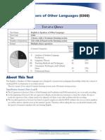 Praxis Test Summary