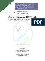 Stevia Una Planta Medicinal