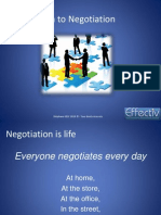 PM1 Introduction to Negotiation