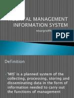 Hospital Management Information System