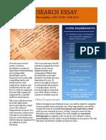 how to write college presentation APA Ph.D. Academic